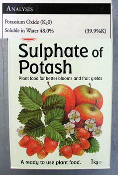 how to use sulphate of potash